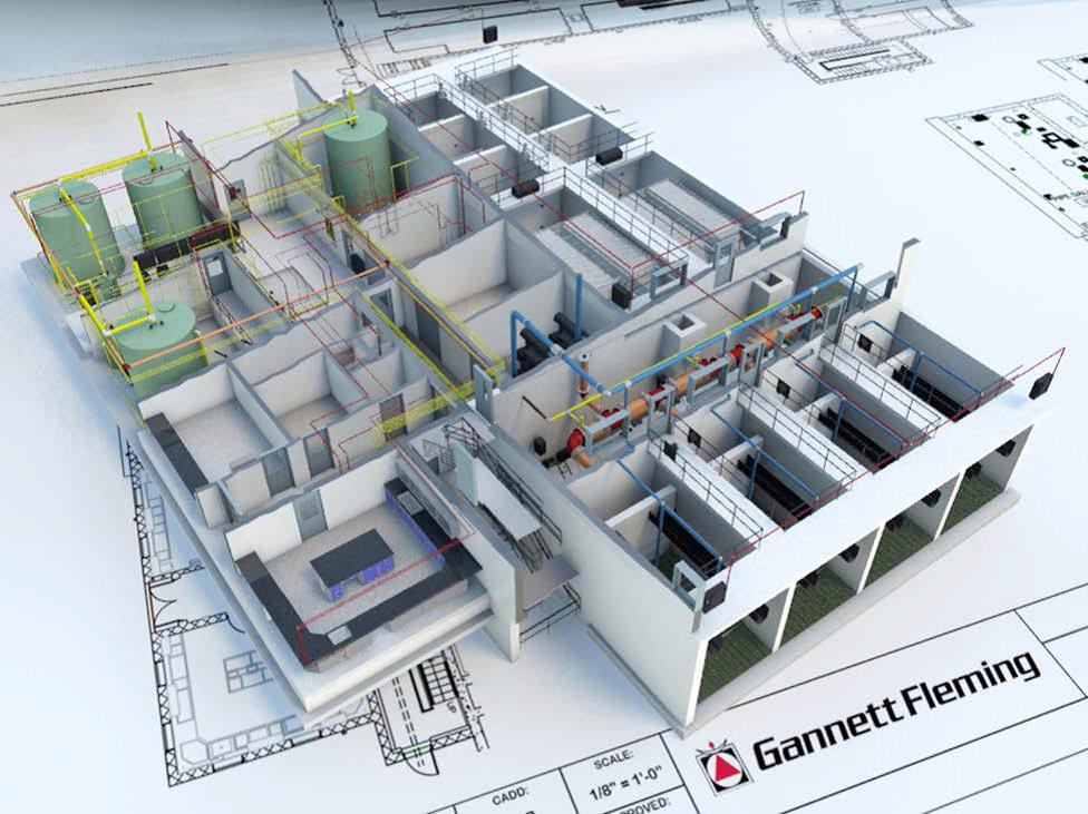 Проектирование с применением технологии информационного моделирования зданий (BIM)